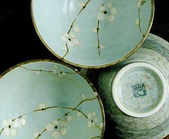 Next & Cherry Blossom Rice Bowls - Japanese Dinnerware Japanese Tableware
