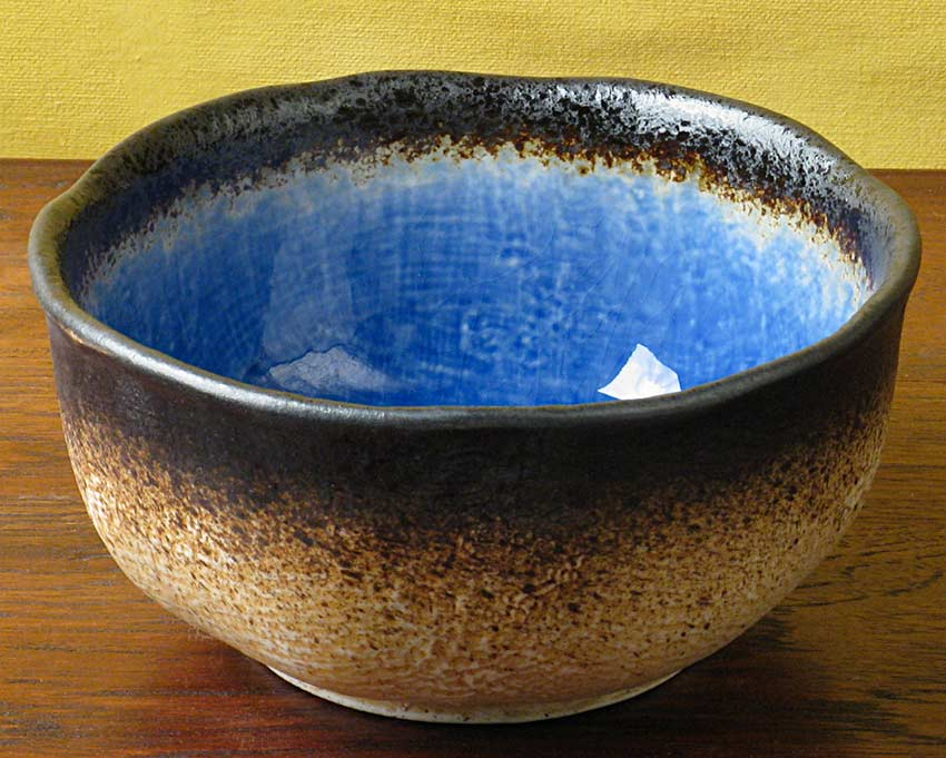 Cobalt Blue Noodle Bowl Japanese Dinnerware Japanese